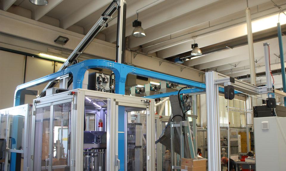 Quadro e impianto elettrico bordo macchina
