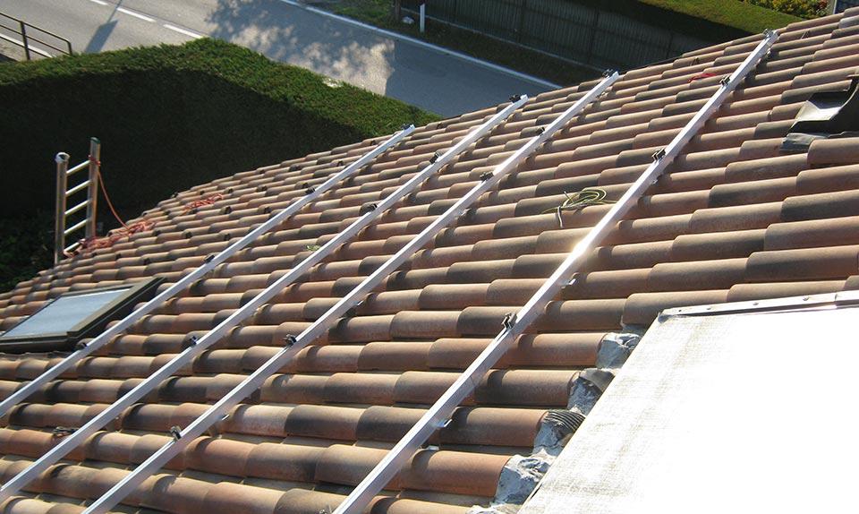 Impianto fotovoltaico per edificio residenziale