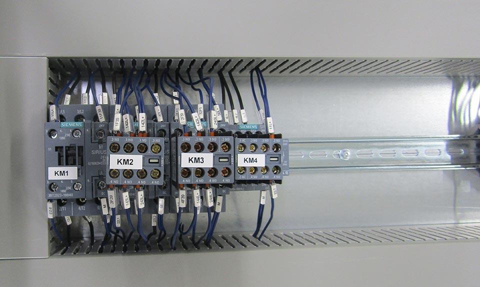 Quadri Elettrici per il funzionamento di macchine di produzione automatizzate