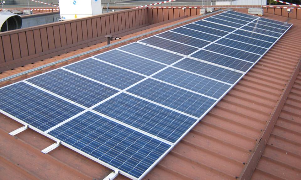 Impianto fotovoltaico Cooperativa Contadini Alta Valsugana di Levico Terme (TN)