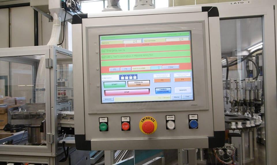 Puressentiel - Quadri elettrici ed impianto elettrico bordo macchina