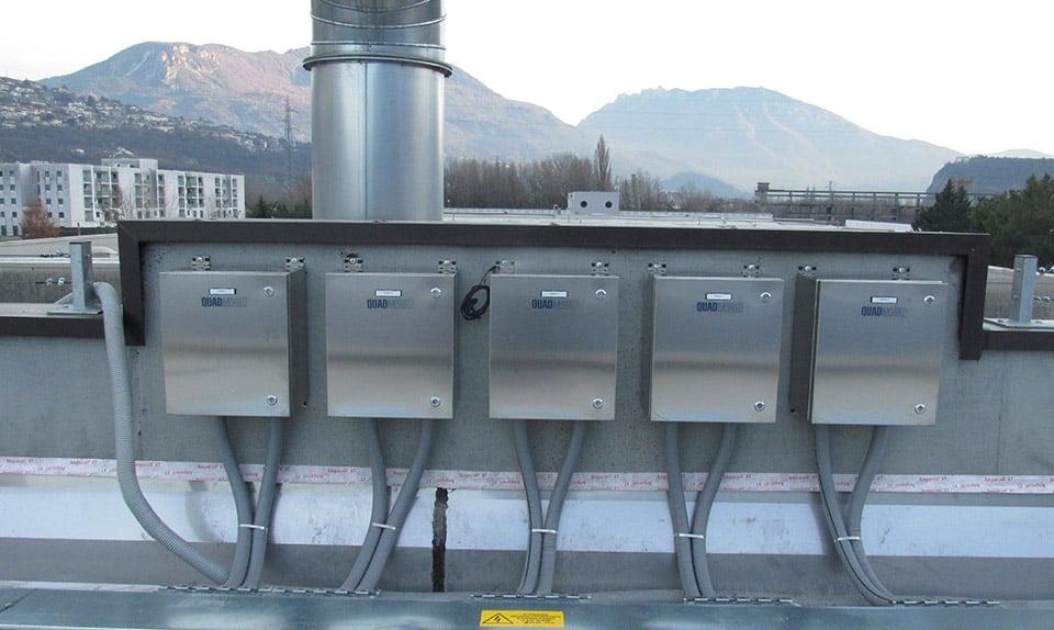 Impianto fotovoltaico INTELLIGENTE a servizio del cantiere Comunale del Comune di Trento