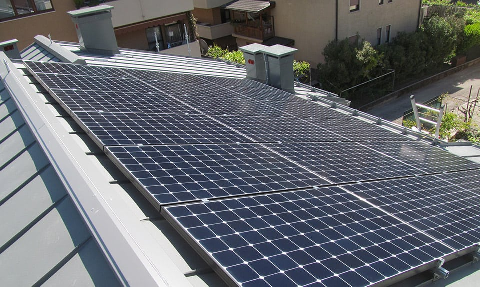 Impianto elettrico e fotovoltaico intelligente - civile abitazione